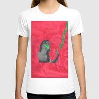 cigarettes T-shirts featuring Watermelon Cigarettes by Alicia Ortiz