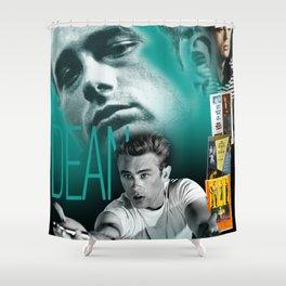 JD Portrait Collage Shower Curtain