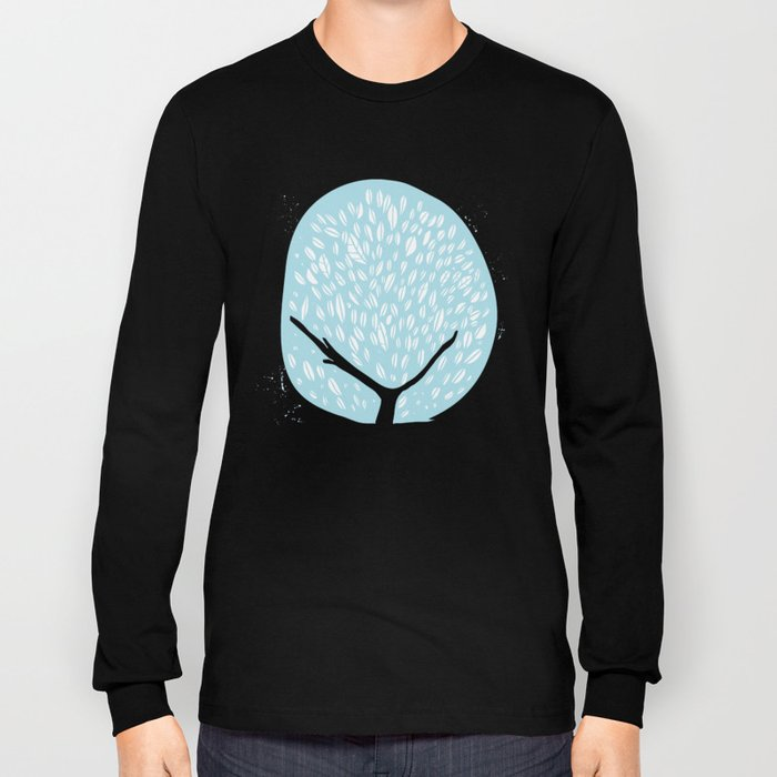 Tree of life - baby blue Long Sleeve T-shirt