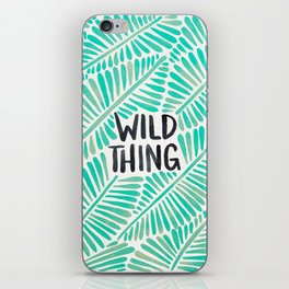 Wild Thing – Mint Palette iPhone Skin