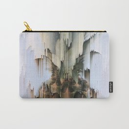Glitch Pineapple Carry-All Pouch
