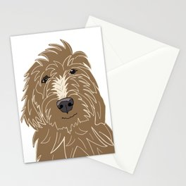A doodle of a Golden Doodle Stationery Cards