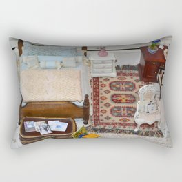 It's a small world when you live in a doll house Rectangular Pillow