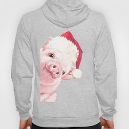 Sneaky Santa Baby Pig Hoody