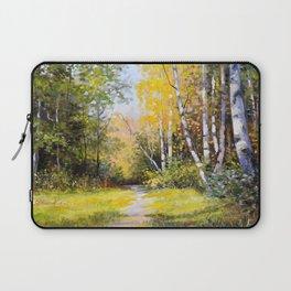 Birch Grove # 3 Laptop Sleeve