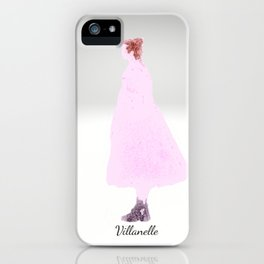 Killing Eve -Villanelle- Pink Dress - watercolor iPhone Case