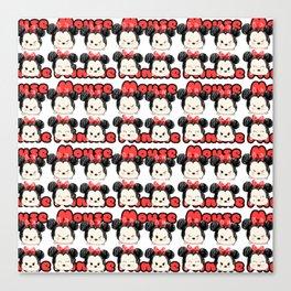 Minnie Tsum Pattern Canvas Print