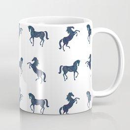 Where the blue horses run Coffee Mug