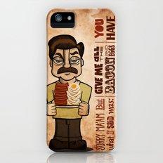 Ron Swanson 4 iPhone (5, 5s) Slim Case
