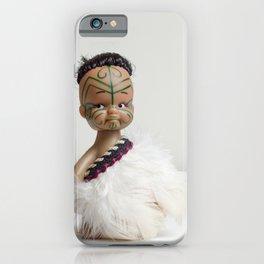A Maori Manu Doll iPhone Case