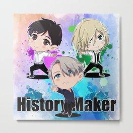 History Maker Metal Print