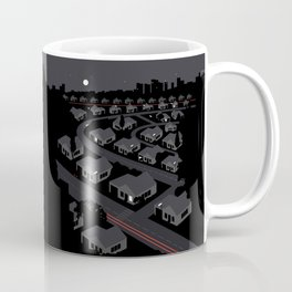 Sub-Urban Night Coffee Mug