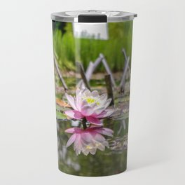 Waterlily staring at its own reflection Travel Mug