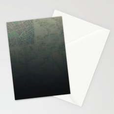 Midnight Map Stationery Cards