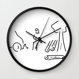 forestry expert Wall Clock