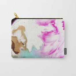 Happiness Ever Abstract Watercolor Painting Carry-All Pouch