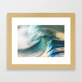 Big Blue Framed Art Print