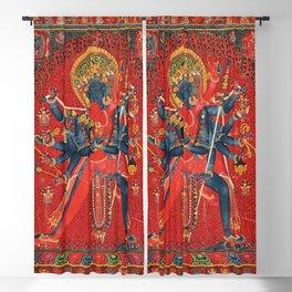 Chakrasamvara and Consort Vajravarahi Tantra Blackout Curtain