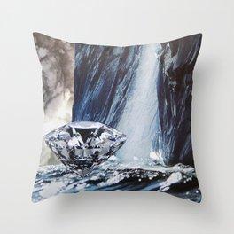 Diamond Sea Throw Pillow