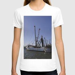 fishing boat and his sidekick T-shirt