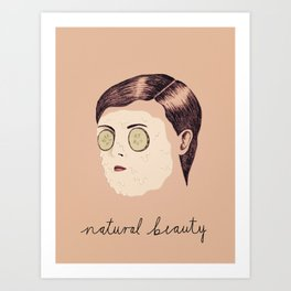 Natural Beauty Art Print