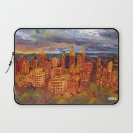 Montreal from Mont Royal during Sunset Laptop Sleeve