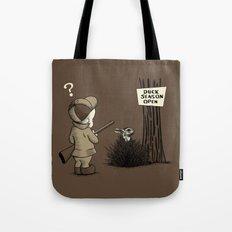 Duck or rabbit? Tote Bag