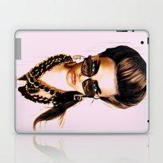 Fashion Illustration - Glasses Laptop & iPad Skin