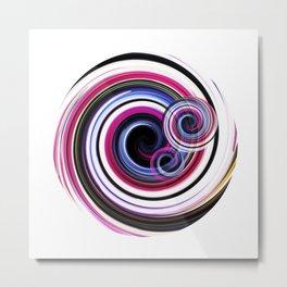 Swirl No. 2 Metal Print