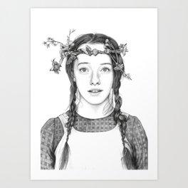 Anne with an E Art Print
