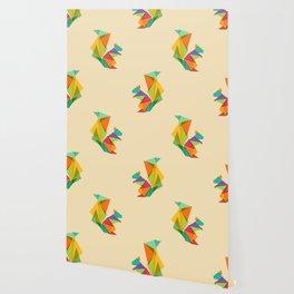 Fractal geometric Squirrel Wallpaper