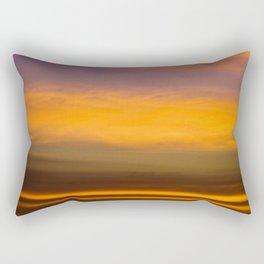 Strips of Fire Rectangular Pillow
