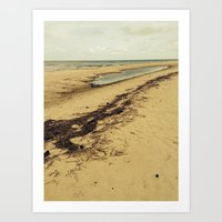 calcifer Art Prints featuring Sandbar by Calcifer