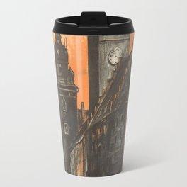 Krakow 01 - Vintage Poster Travel Mug