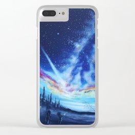 Nightlight Clear iPhone Case