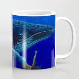 Mermaids with Humpback Whale Coffee Mug