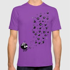 Have Fun 2X-LARGE Mens Fitted Tee Ultraviolet