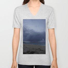 Storm over St Ives Unisex V-Neck