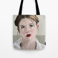 lolita Tote Bags featuring Lolita by Acromatiq