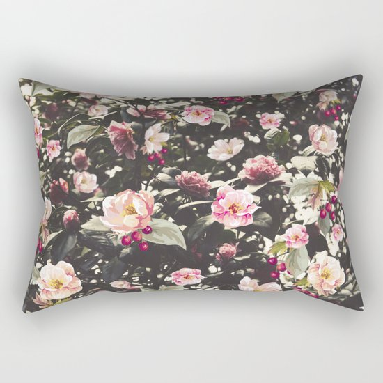 Beat Around The Rosebush Rectangular Pillow