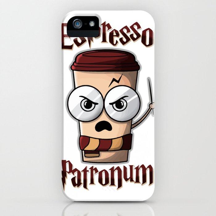 espresso patronum iphone case