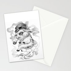 Pig & Pipe Stationery Cards