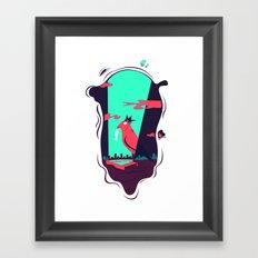 outer glam Framed Art Print