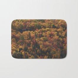 Landscape in Canada - Autumn Bath Mat