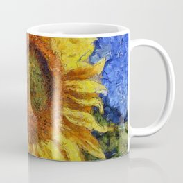 Sunflower In Van Gogh Style Coffee Mug