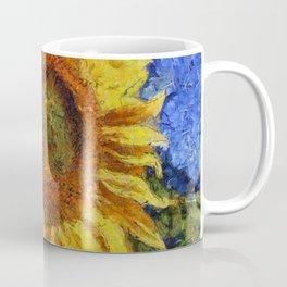 Sunflower In Van Gogh Style Coffee Mug