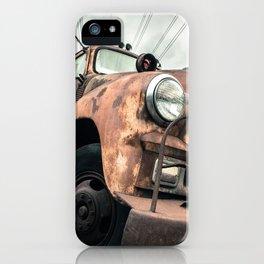 Rusty Road iPhone Case