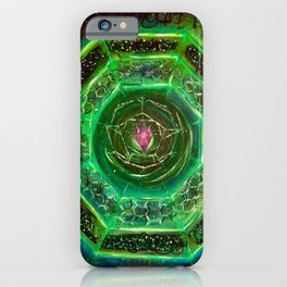 Sacred Sigil Of Archangel Raphael iPhone Case