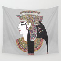egyptian Wall Tapestries featuring EGYPTIAN GODDESS by Bianca Green