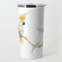 A couple of cockatoo Travel Mug